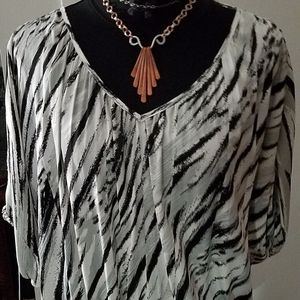 Silky Jennifer Lopez Blouse XL